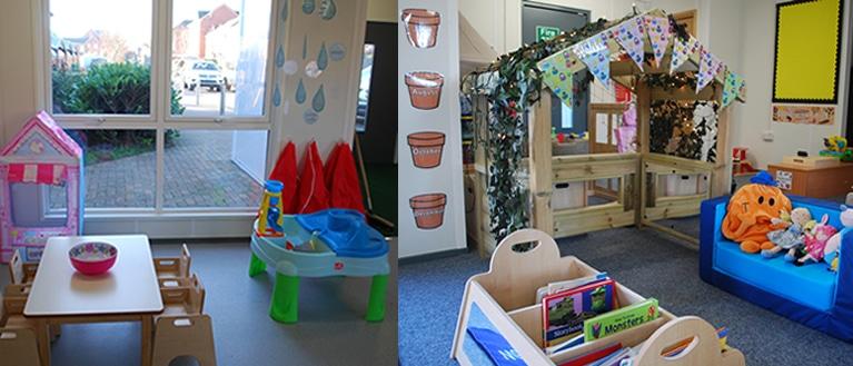 Nursery Cherry classroom photos