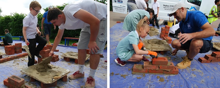 Bricklaying experience