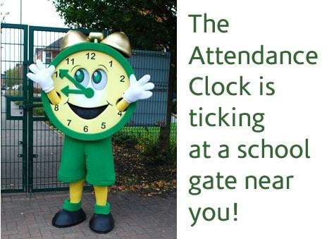 Attendance-clock