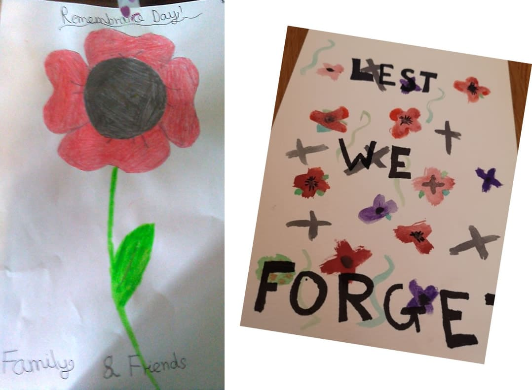 Lest We Forget by Isobel and Denisa