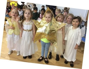 Reception nativity play