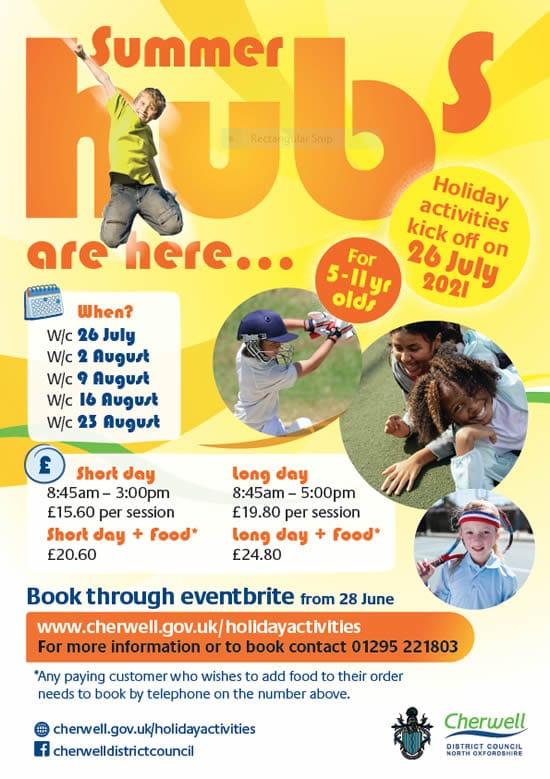 Summer Hubs poster