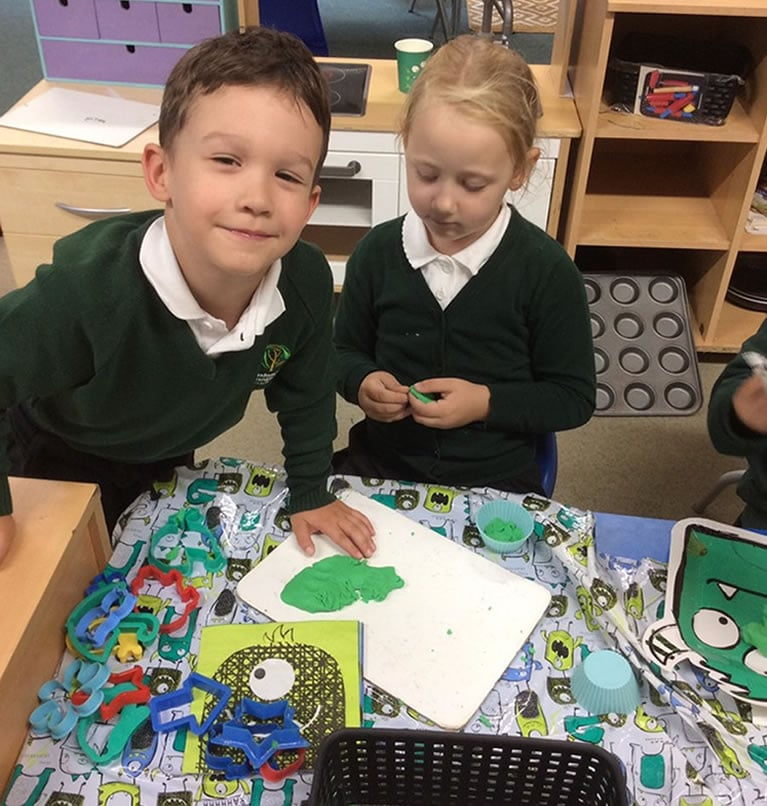 First day in Reception