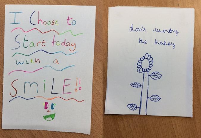 Year 6 Positivity cards