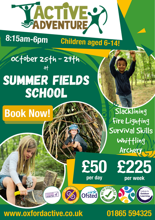 SF October Camp Flyer